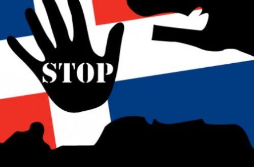 Article : #StopRacismeRepDom